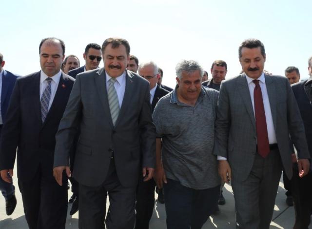 Bakan Eroğlu ve Bakan Çelik Şanlıurfa'da