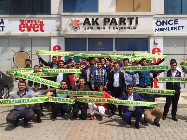 AK Parti Şanlıurfa Teşkilatı Ankara'ya Gitti