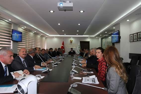 DSİ 15. Bölge Müdürlüğü Değerlendirme Toplantısı