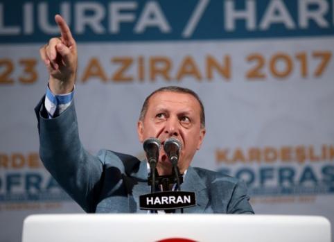 Cumhurbaşkanı Erdoğan Harran'da