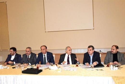 Ankara'da Şanlıurfa'nın yatırımları masaya yatırıldı