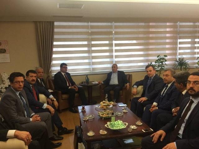 Fakıbaba ve Ekinci Ankara Temasları