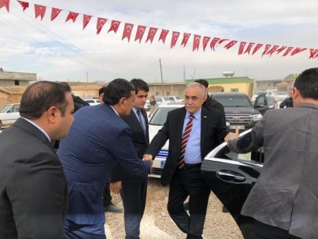 Fakıbaba Harran'da şehit ailesini ziyaret etti