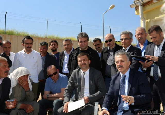 Murat Acu Projeleri Denetledi