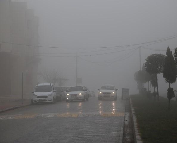 Şanlıurfa'da sis
