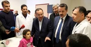Bakanlar Viranşehir Hasta Ziyaretleri