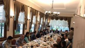Başkan Çiftçi İstanbul'da yaşayan Urfalılarla buluştu