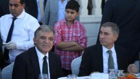 Faruk Bayrak, Abdullah Gül'ü ağırladı