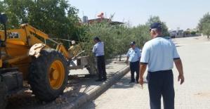Halfeti Belediyesi Zabıta Ekipleri Çalışıyor