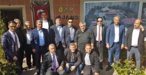 Urfalı Bürokratlardan Sedat Atilla'ya Ziyaret