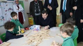 Başkan Baydilli, İlim Kent Okullarını Ziyaret Etti