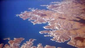Atatürk Barajı Kuş Bakışı