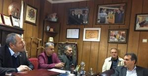 AK Parti Evren Sanayi Ziyaret