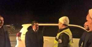 Başkan Ekinci Polis Noktası Ziyareti