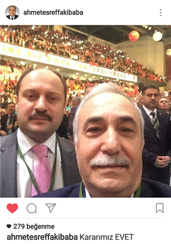 Fakıbaba ve Gülpınar İnstagram Fotoğrafı