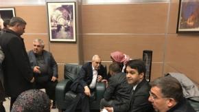 Fakıbaba havaalanında sorun dinledi