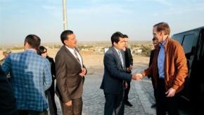 Fransa Büyükelçisi Harran Ziyareti