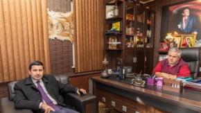Yıldız Gazeteci Sedat Atilla#039;yı ziyaret etti