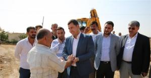 Karaköprü'de Kırsal Çalışmalar