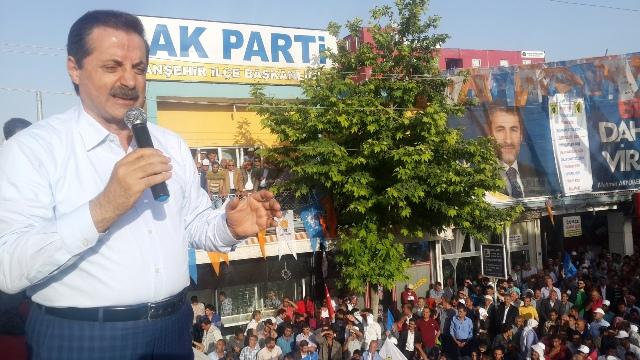 Bakan Çelik Viranşehir'de