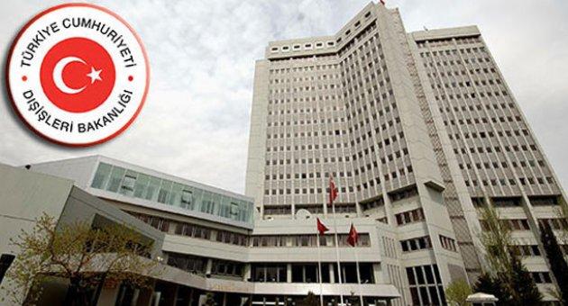 Dışişleri Bakanlığı'ndan Tel Abyad raporu