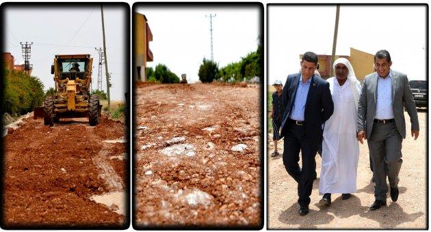 Kırsal Mahallelerde Stabilize Yol Yapım Çalışması