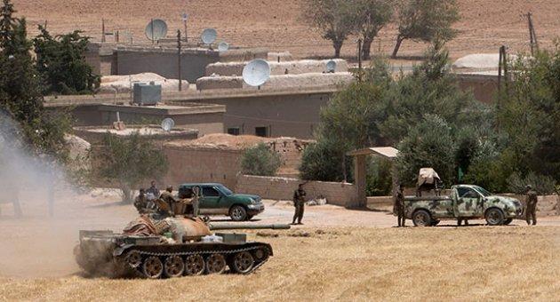 YPG Tel Abyad'a girdi