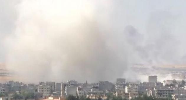 Kobani'de Şiddetli Patlamayla İlgi İlginç Detay
