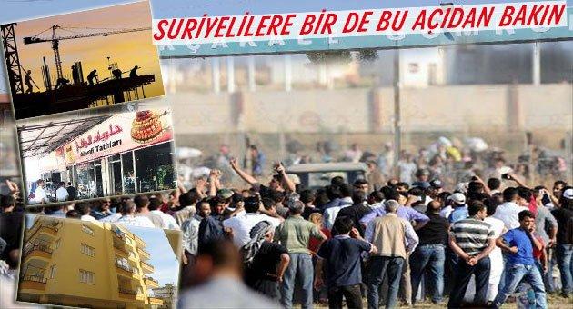 Suriyeliler Urfa'yı Hızla Kalkındırıyor