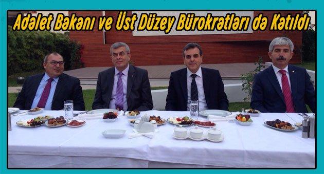 Türkiye Noterler Birliğinden İftar Yemeği