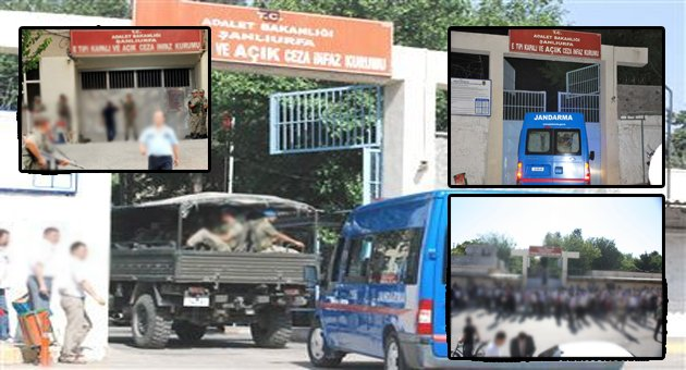 Urfa'da 36 Tutuklu Başka İllere Nakledildi