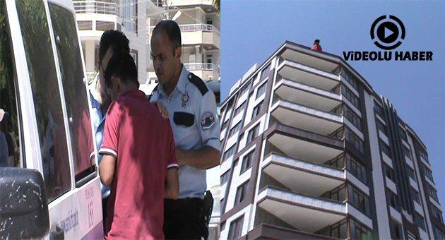 Urfa'da İntiharı Polis Önledi