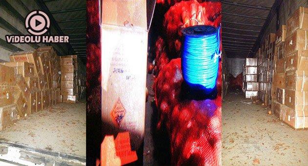 Urfa'da Bomba Yüklü TIR Ele Geçirildi
