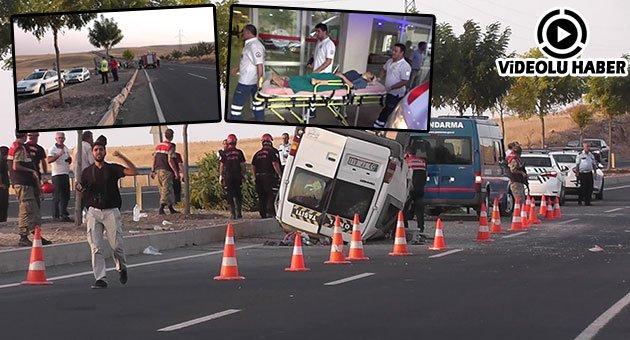 Urfa'da Trafik Kazası: 14 Yaralı
