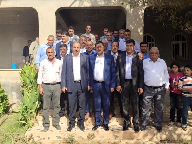 Özcan Harran'da Çıkarma Yaptı