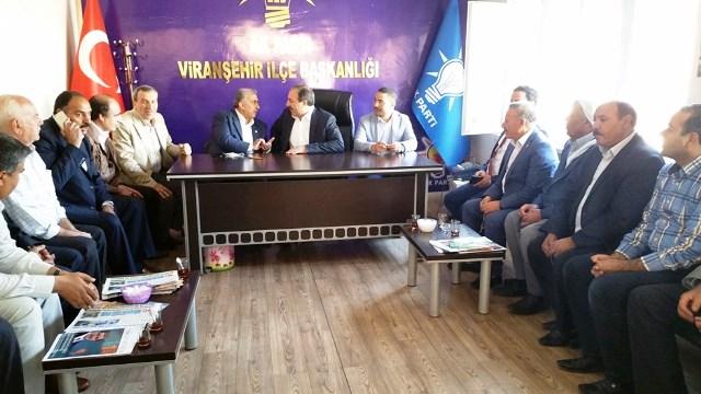 AK aday Özcan Viranşehir'de