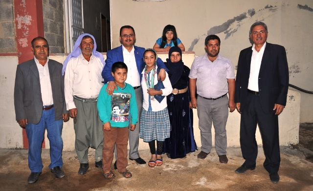 Kaçar'dan kırsal mahallelere ziyaret