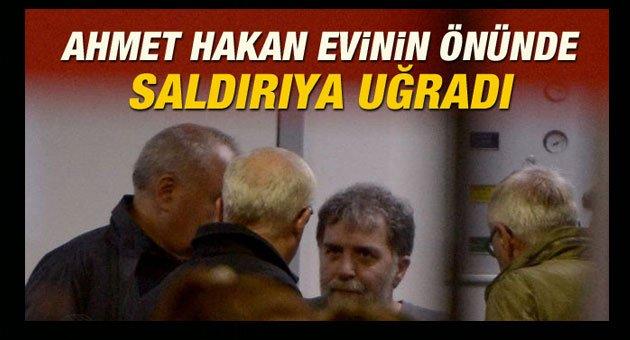 Ahmet Hakan'a Çirkin Saldırı