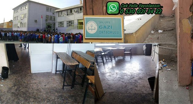 Burası Urfa'nın Göbeğinde Bir Okul