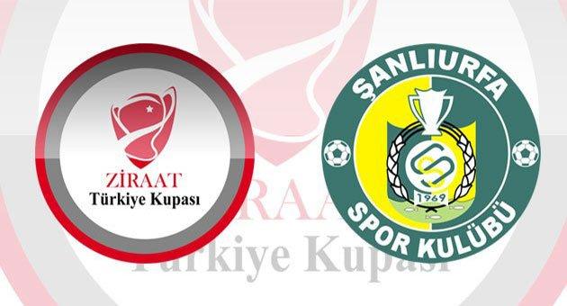 Şanlıurfaspor'un Ziraat Türkiye Kupa Maçı Ne zaman