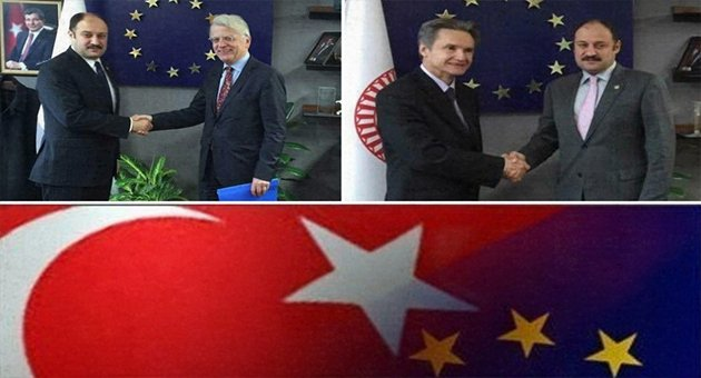 Büyükelçiler Gülpınar'ı Ziyaret Etti