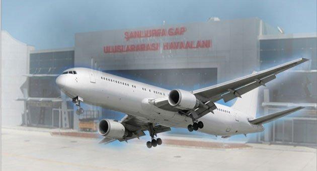ŞanlıUrfa Gap Havalimanı Değişmeyen Tablo