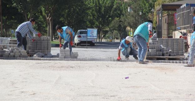 Eyyübiye'de Yol Çalışmaları Tam Hız