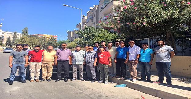 Gençler 15 Temmuz Gazisini Ziyaret Etti