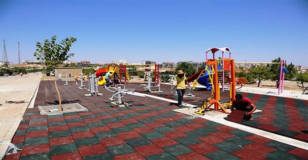 Halfeti'ye Modern ve Yeni Parklar