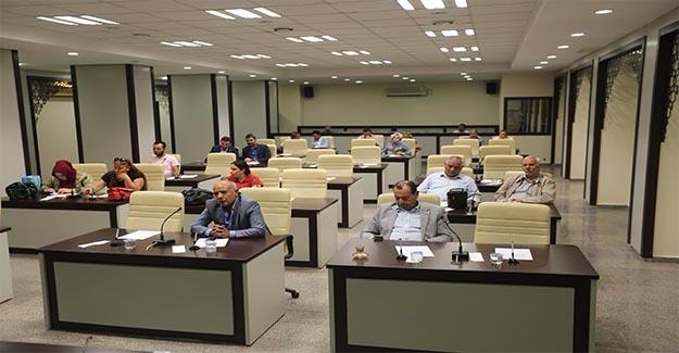 Haliliye'de Meclis Toplantısı Sona Erdi