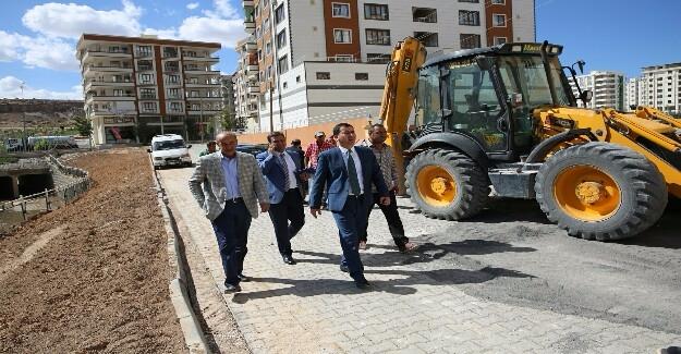 Karaköprü'de Yollar Yenileniyor