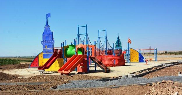 Muratlı Mahallesinde Park Yapım Çalışmaları Hız Kazandı