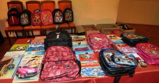 Okullara Kırtasiye Yardımı Yapıldı