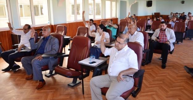 Siverek'te Meclis Toplantısı Yapıldı